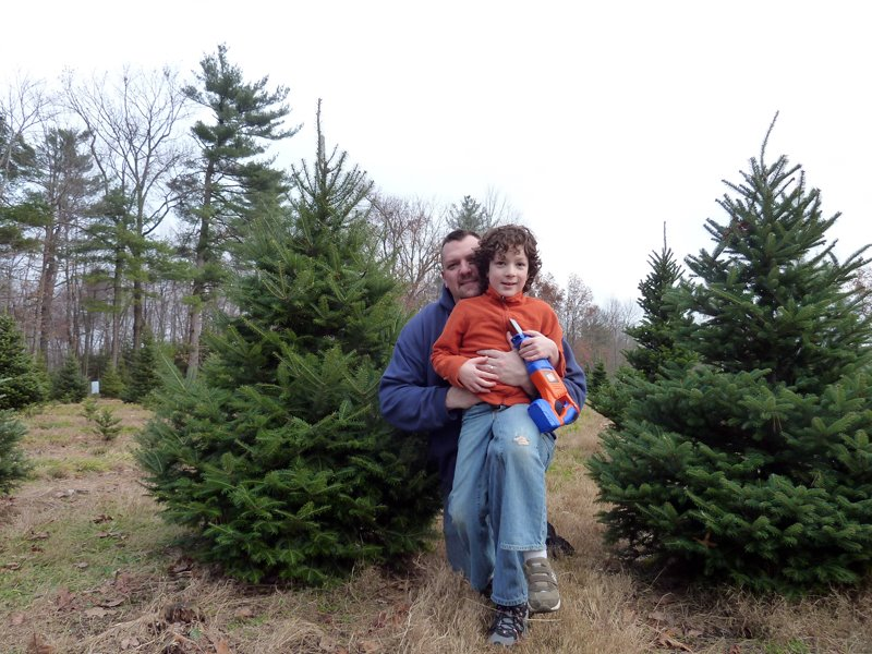 The Great Christmas Tree Hunt of 2011.