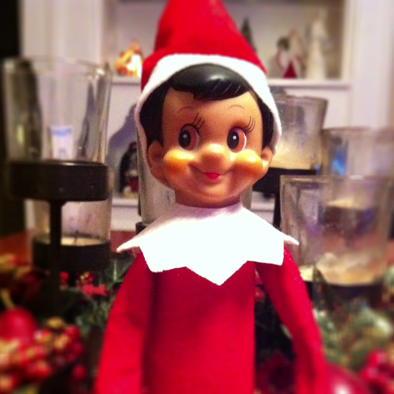 Day 8 – He IS a good elf!