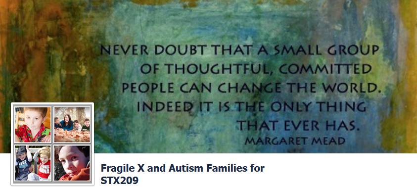 Fragile X and Autism Families for STX209